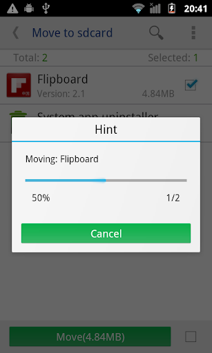 move app to sdcard pro v2 4 119 - Android Applications
