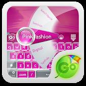 Pink fashion GO Keyboard