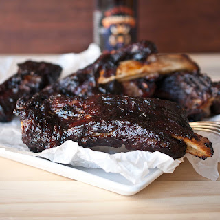 Oven Roasted BBQ Ribs With Stout Barbecue Sauce