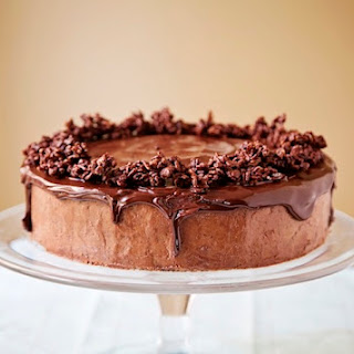 Four Layer Chocolate Mousse Cake