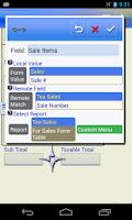 Screenshot of SailformsPro Relational DB