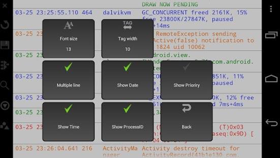 LogcatBrowser- screenshot thumbnail