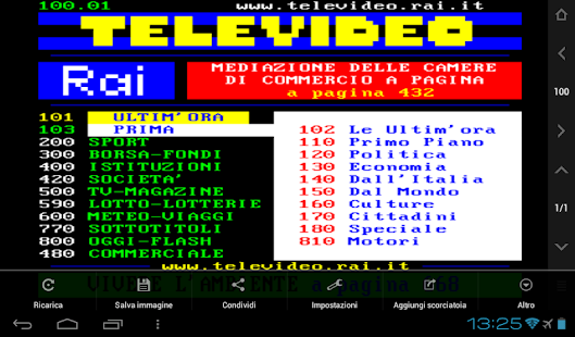 Televideo- screenshot thumbnail