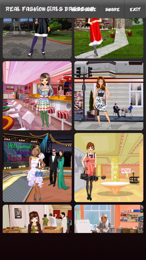 Real Fashion Girls Dress Up - screenshot