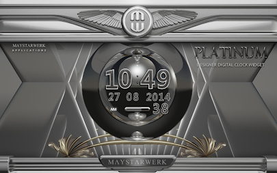 Digi Clock Widget Platinum APK screenshot thumbnail 5
