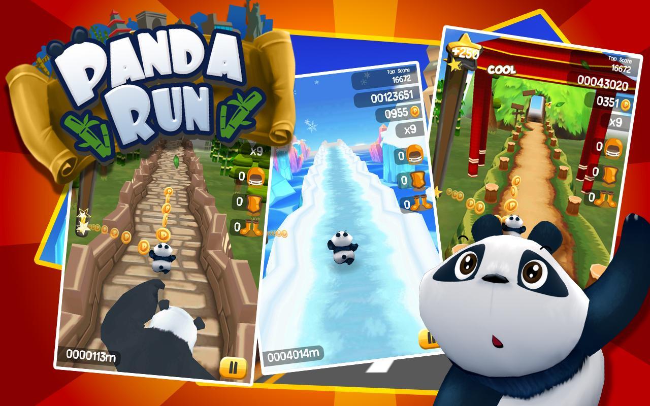 Run Panda Run - A Free Girl Game on