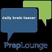 PrepLounge Daily Brain Teaser