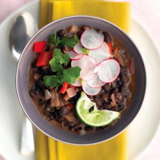 Cuban Black-Bean Stew with Rice Recipe