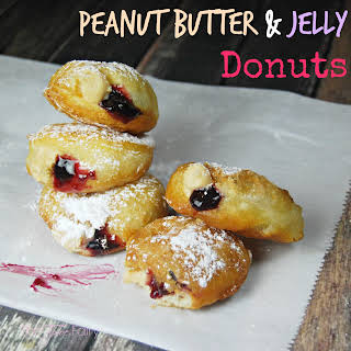 Peanut Butter & Jelly Donuts.