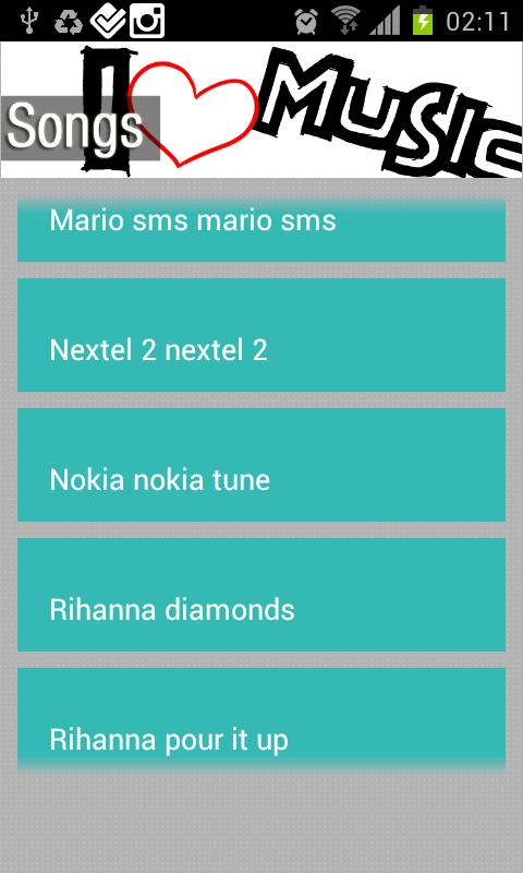 BEST RINGTONE 2013 ZIL SESI 2 - screenshot