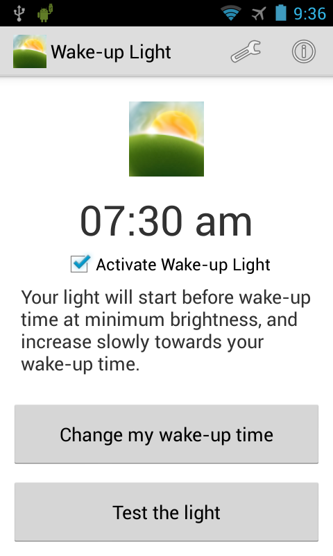 Wake-up Light – Android-Apps auf Google Play