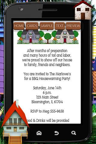 Blank Housewarming Invitations for adorable invitations design