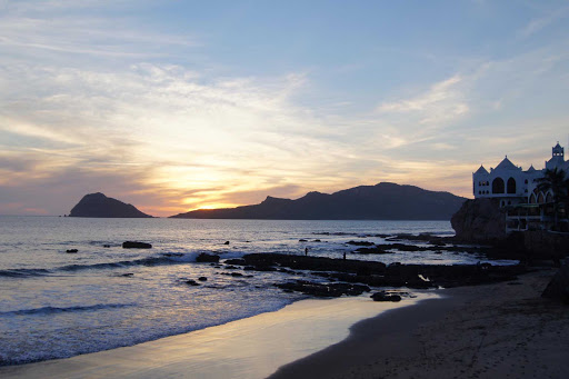 sunset-Mazatlan-Mexico - A scenic sunset in Mazatlan, Mexico.