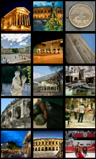 Nimes in Provence Wallpaper