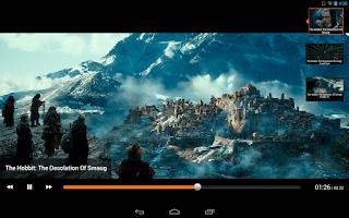 Screenshot of Fandango Movies for Tablets