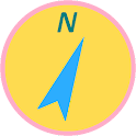 Rapid Compass (Lively Yellow) icon