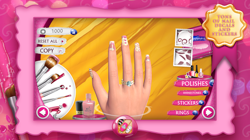 Nail Manicure Games For Girls 9.1 screenshots 2