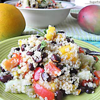 Mango Quinoa Black Bean Salad