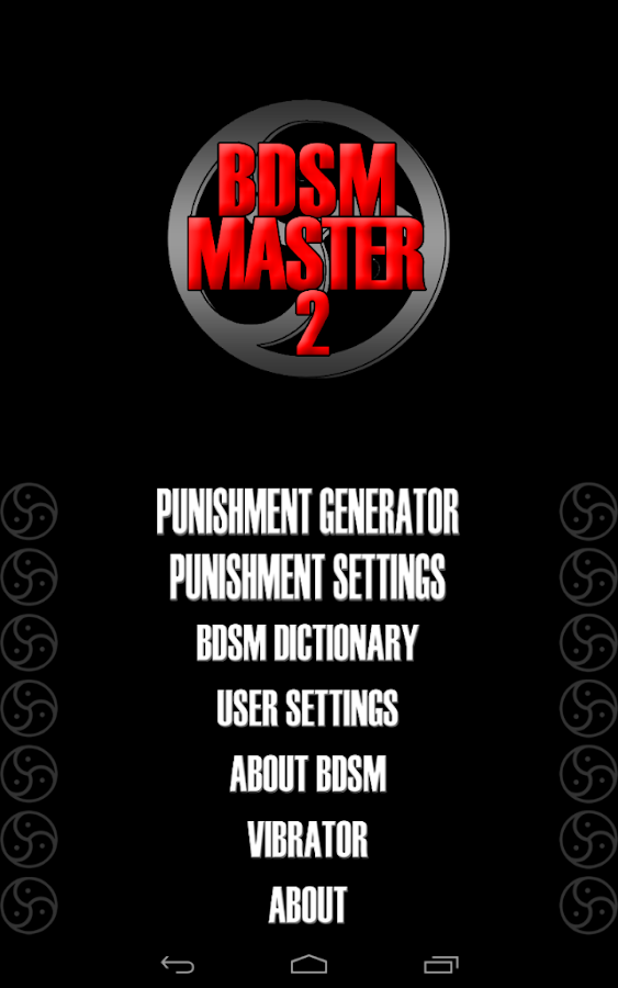 Can Free bdsm cards to master