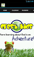Screenshot of The Crest Kids Ministry