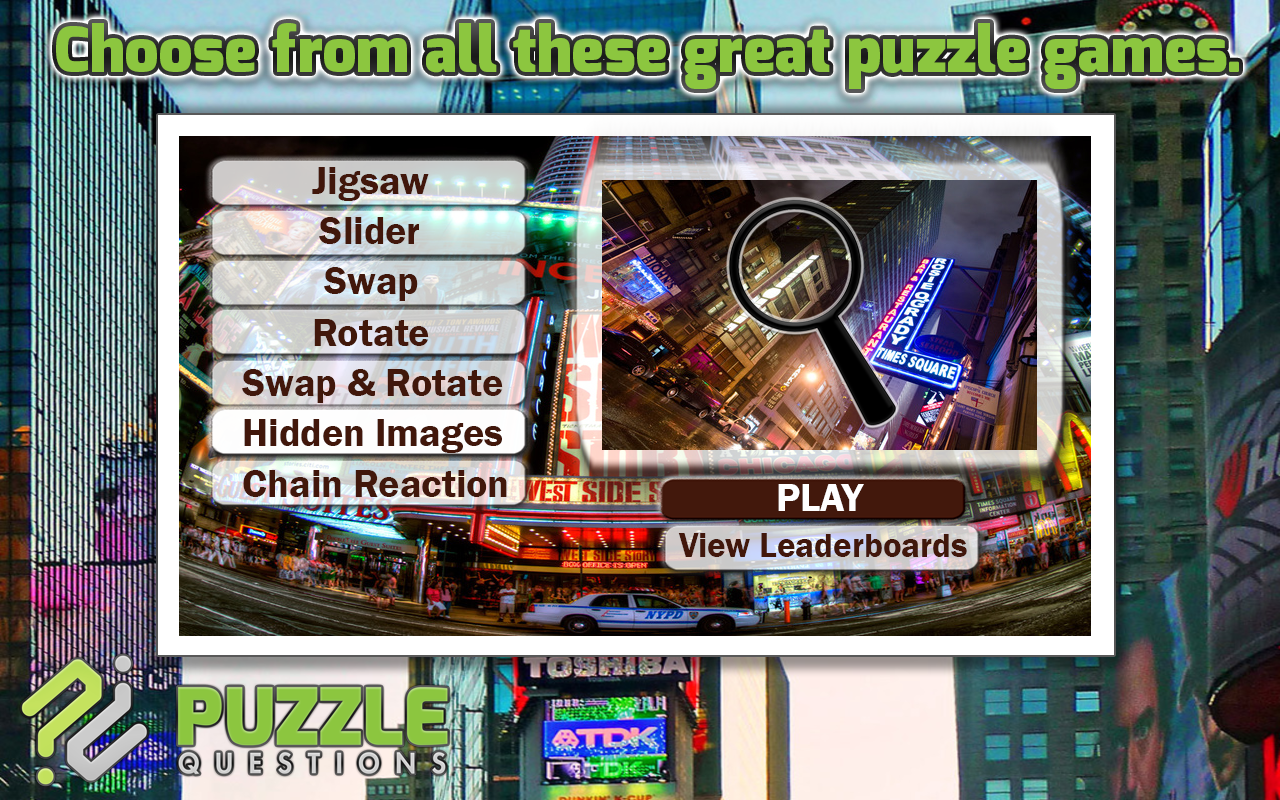 Times Square New York Puzzles- screenshot