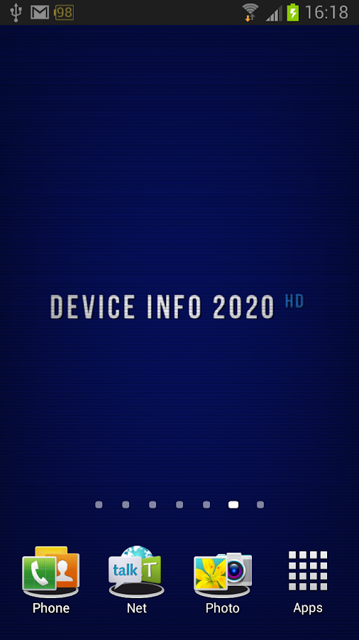 Device Info 2020 HD LWP - screenshot