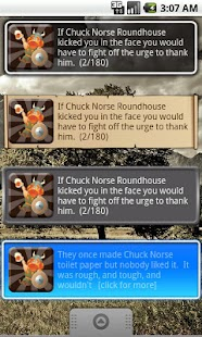 Chuck Norse Facts with Widget- screenshot thumbnail