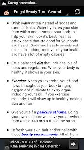 Frugal Beauty & Makeup Guide - screenshot thumbnail