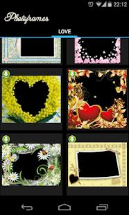 Love PhotoFrames - screenshot thumbnail