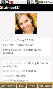 Christian Dating Cafe - screenshot thumbnail