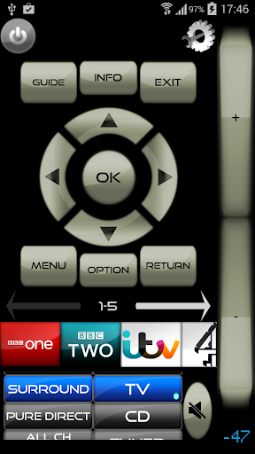 MyAV for SkyQ, Sky+HD & TV Wi-Fi Remote Cow V3.25 screenshots 2