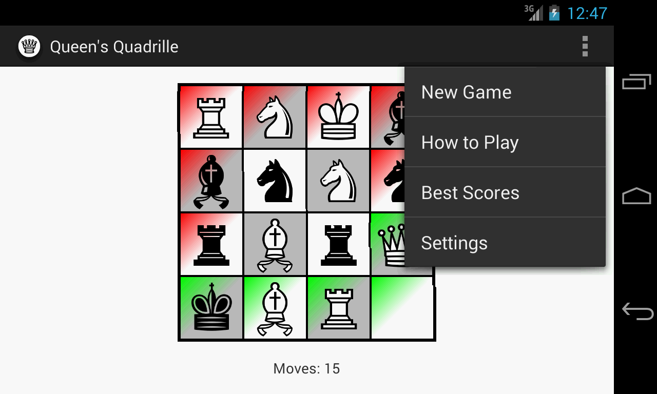 Queen's Quadrille- screenshot