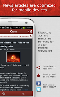 erem – Listen to Your News - screenshot thumbnail