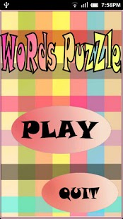 Words Puzzle Deluxe- screenshot thumbnail