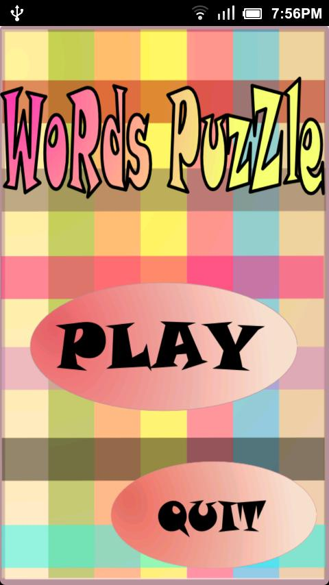 Words Puzzle Deluxe - screenshot