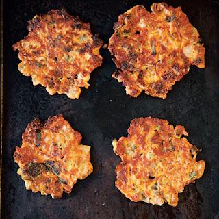 Kimchi Pancakes.