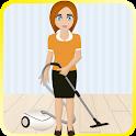 jogos de limpeza supermercado icon