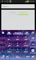 Screenshot of Fairy Dust Keyboard