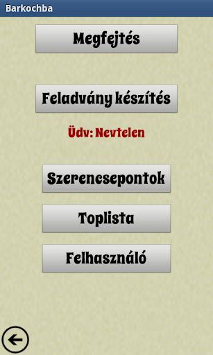 Barkochba szójáték magyar