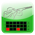 Clay Shooting Club Score Card icon