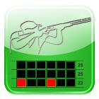 Clay Shooting Club Score Card icon