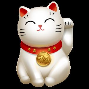 招财猫桌面时钟 工具 App LOGO-APP試玩