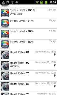 Stress Check by Azumio - screenshot thumbnail