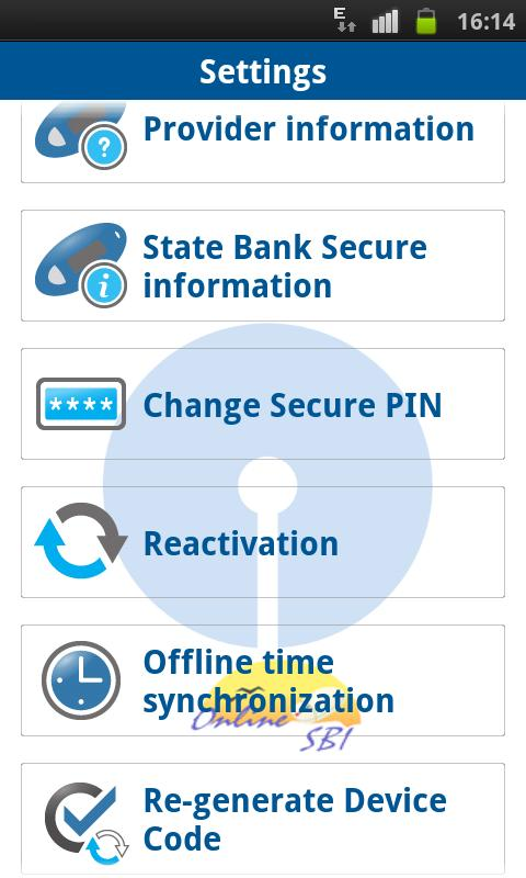 State Bank Secure - screenshot