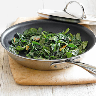 Sautéed Spinach with Garlic.
