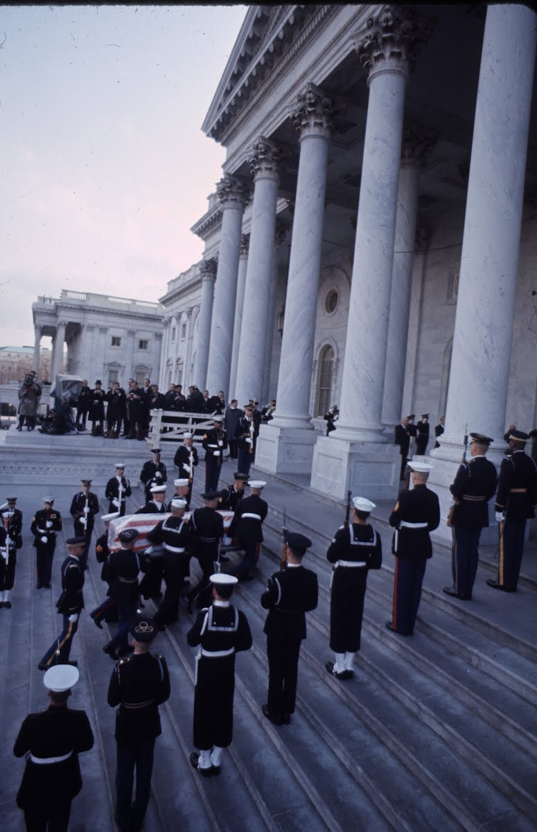 Dwight D. Eisenhower's Funeral - '69
