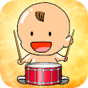 Baby Mini Drum Studio icon