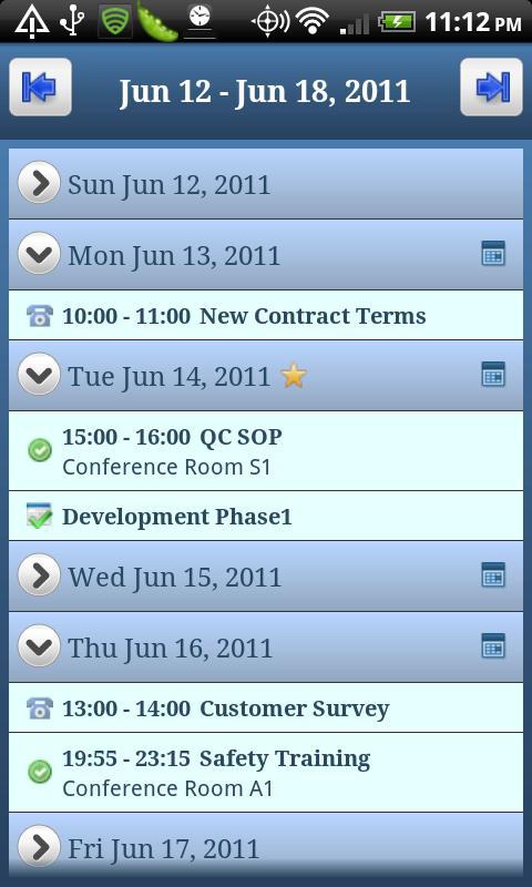 SuiteDroid for NetSuite- screenshot