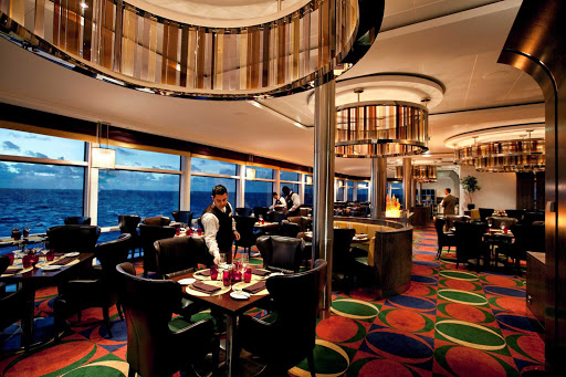 Celebrity_Solstice_Tuscan_Grille - You'll enjoy an authentic slice of Italia while dining in Celebrity Solstice's Tuscan Grille restaurant.
