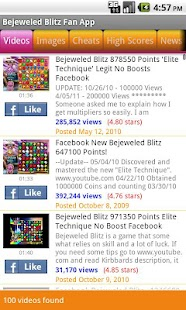 Bejeweled Blitz Fan App - screenshot thumbnail